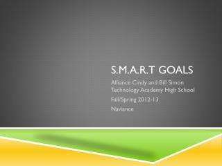 S.M.A.R.T goals