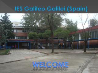 IES Galileo Galilei (Spain)