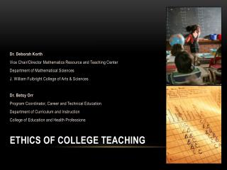 Ethics of College Teaching