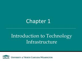 Introduction to Technology Infrastructure
