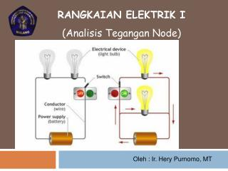 RANGKAIAN ELEKTRIK I (Analisis Tegangan Node)