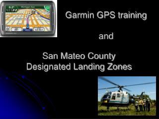 San Mateo County Designated Landing Zones