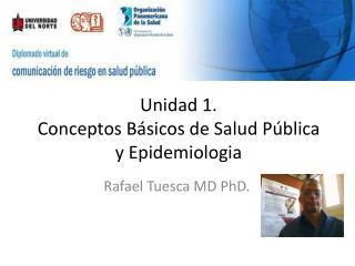 Unidad 1. Conceptos Básicos de Salud Pública y Epidemiologia