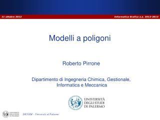 Modelli a poligoni