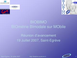 BIOBIMO BIOmétrie BImodale sur MObile