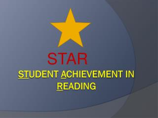 St udent  a chievement IN  R EADING