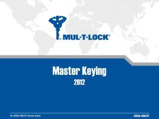 Master Keying 20 12