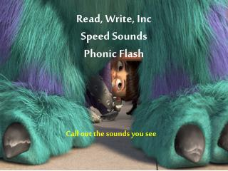 Read, Write, Inc Speed Sounds  Phonic Flash