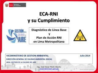 ECA-RNI  y su Cumplimiento