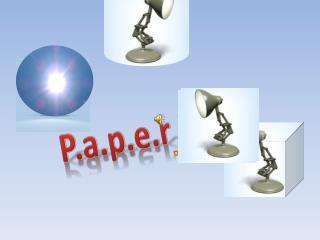 P.a. p .e.r Pixar