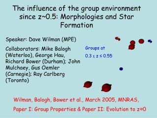 Speaker: Dave Wilman (MPE)