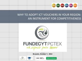 WHY TO ADOPT ICT VOUCHERS IN YOUR REGION:  AN INSTRUMENT FOR COMPETITIVENESS