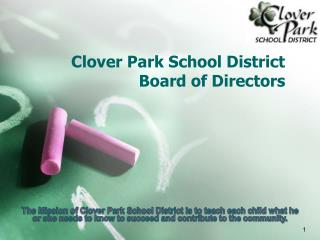 Clover Park School District  Board of Directors