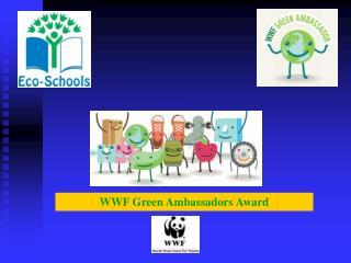 WWF Green Ambassadors Award