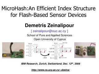 MicroHash:An Efficient Index Structure for Flash-Based Sensor Devices