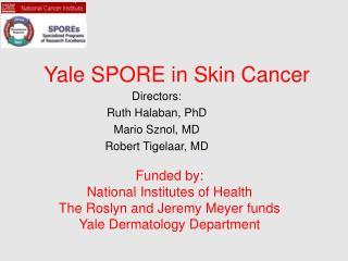 Yale SPORE in Skin Cancer