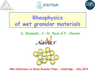 Rheophysics of wet granular materials