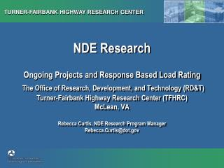 NDE Research