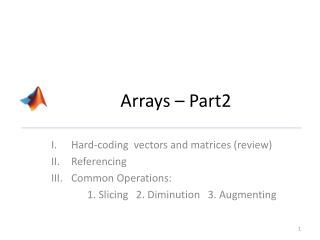 Arrays – Part2