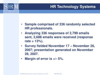 HR Technology Systems