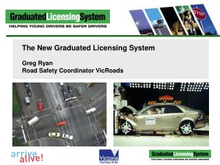 The New Graduated Licensing System Greg Ryan Road Safety Coordinator VicRoads