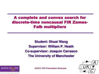 A  complete  and convex search for discrete-time noncausal FIR Zames-Falb multipliers