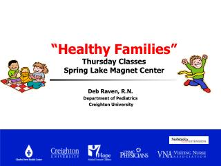"""Healthy Families"" Thursday Classes  Spring Lake Magnet Center"