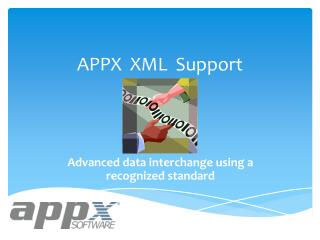 APPX  XML  Support