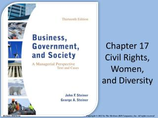 Chapter 17 Civil Rights, Women, and Diversity