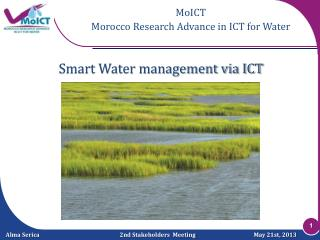 Smart Water management via ICT