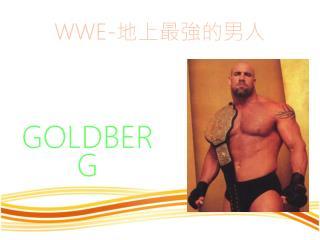 WWE- 地上最強的男人