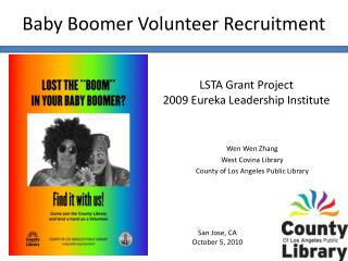 Baby Boomer Volunteer Recruitment