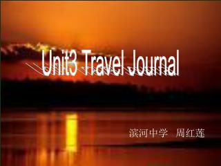 Unit3 Travel Journal