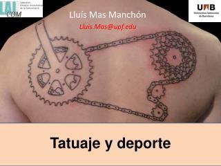 Tatuaje y deporte