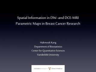 Spatial Information in DW- and DCE-MRI Parametric Maps in Breast Cancer Research