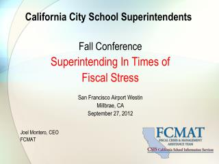 California City School Superintendents