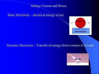 Voltage Current and Power