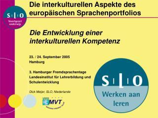 Die interkulturellen Aspekte des europ�ischen Sprachenportfolios