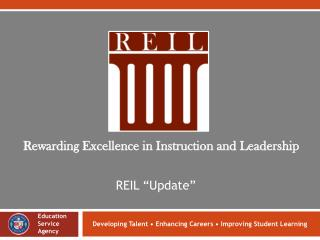 Developing Talent • Enhancing Careers • Improving Student Learning