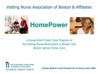 Visiting Nurse Association of Boston & Affiliates