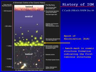History of IGM