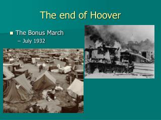 The end of Hoover