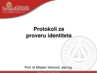 Protokoli za proveru identiteta
