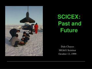 SCICEX:  Past and Future