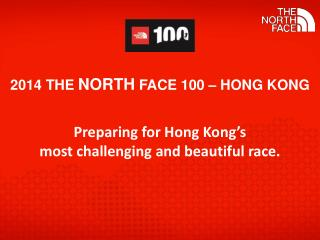 2014 The  North  Face 100 – Hong  Kong