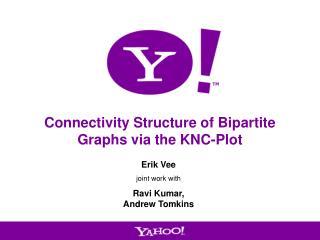 Connectivity Structure of Bipartite Graphs via the KNC-Plot