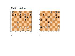 Matt i två drag