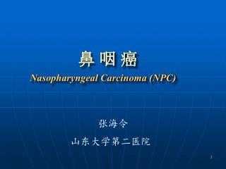 鼻 咽 癌