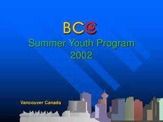 Summer Youth Program 2002