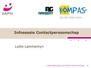 Infosessie Contactpersoonschap
